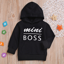 Children Sweatshirt Hooded Toddler Lucky Baby Boys Girls Sweatshirts Infant Letter Clothes Blouse Hoodies Tops Kid