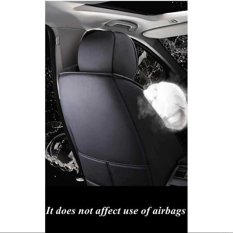 Auto Car Seat Cover untuk Volkswagen Golf 7 4 5 6 Passat B5 B8 B6 B7 Golf Sportsvan Bora Polo permen Magotan Sagitar PHIDEON Gol