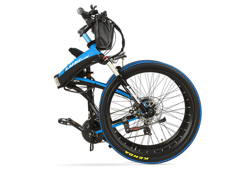 Lankeleisi 189.47 electric bicycle, folding bicycle, 26 inches, 36/48 V, 240 W, disk brake, fast folding, mountain 27