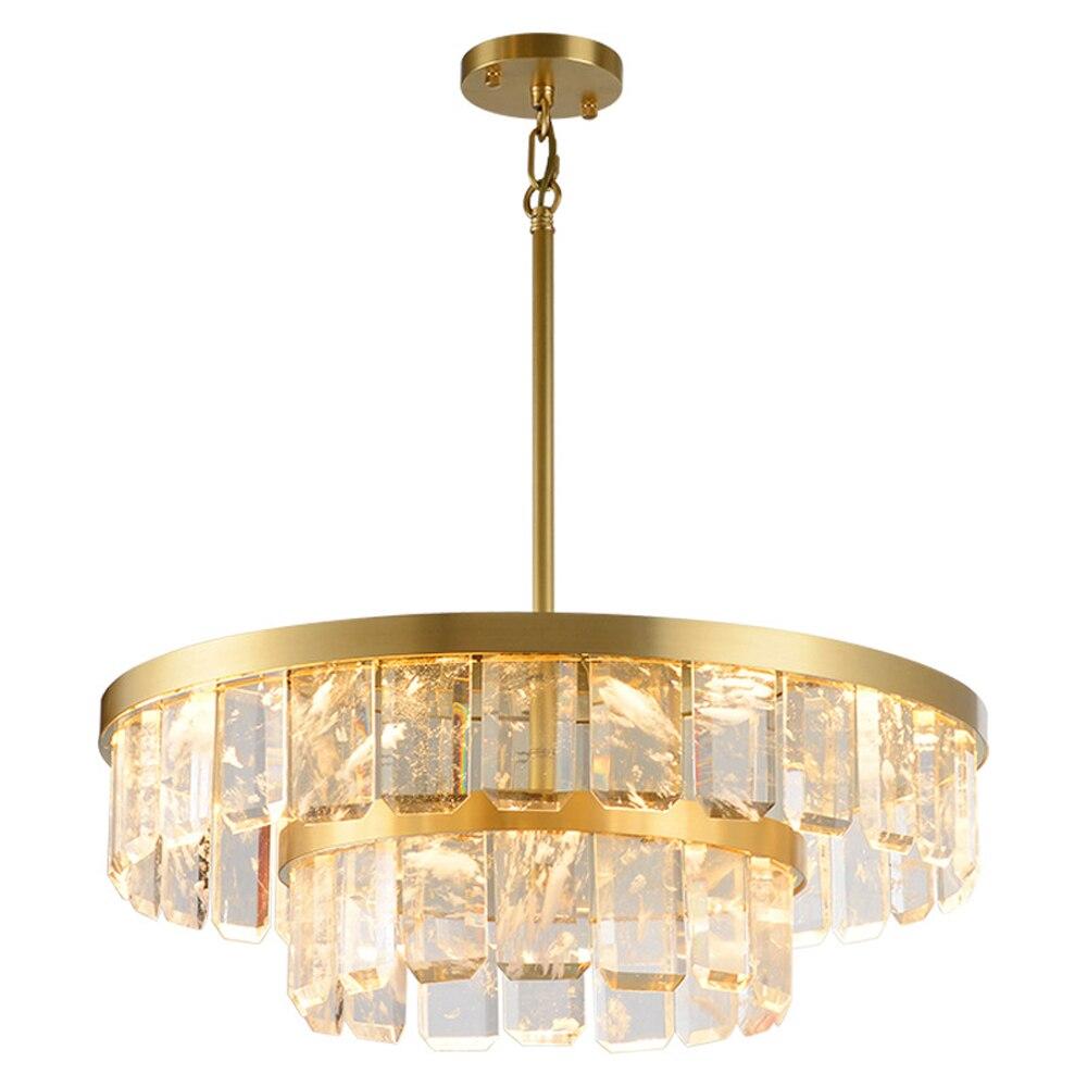 Новая Современная хрустальная люстра, роскошное украшение для дома, хрустальная лампа, светодиодный светильник для магазина
