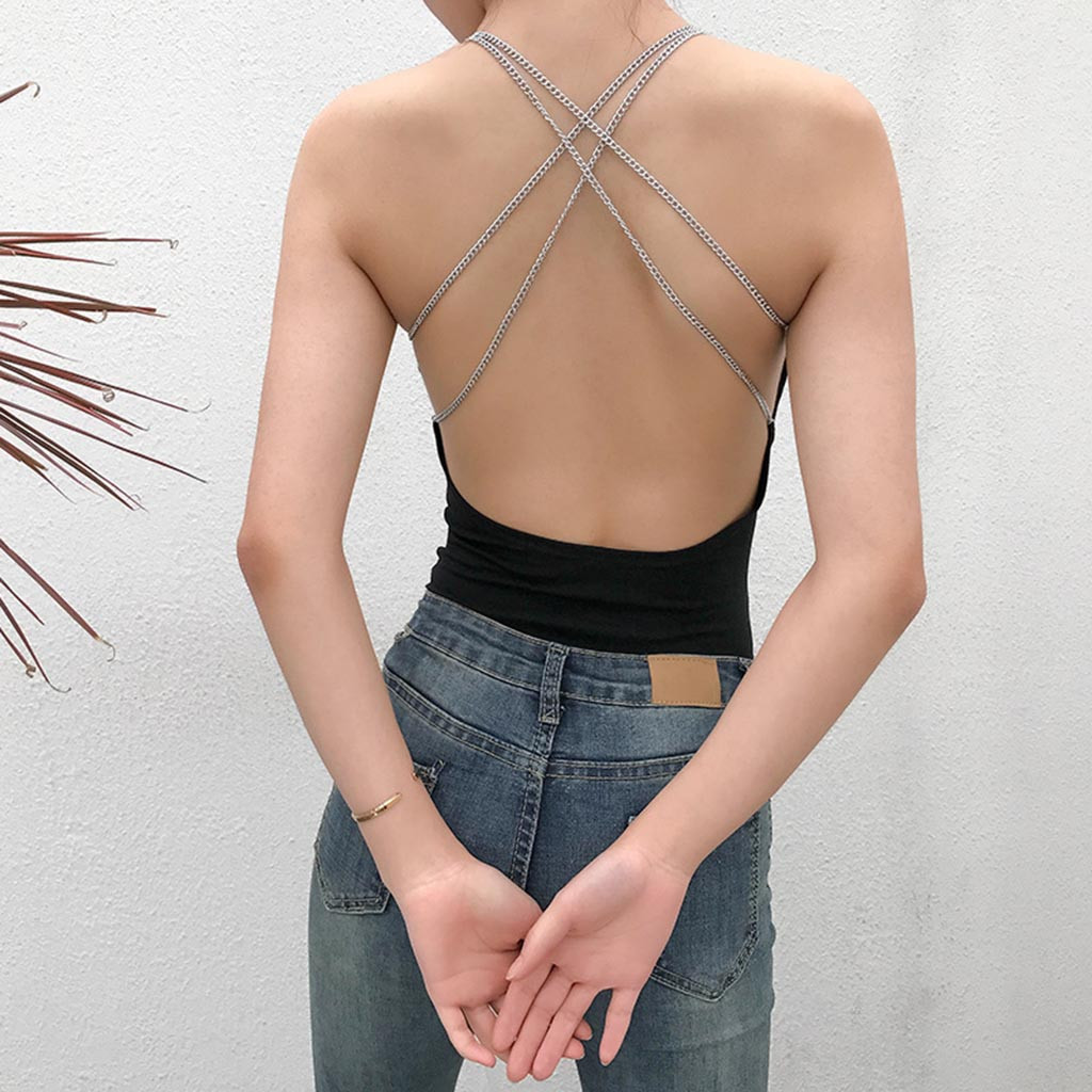 Bodysuit For Women Classic High Fashion Women's Intimates Smooth Sleeveless Teddy Bodysuit Ladies Jumpsuit Sexy Female Onesies
