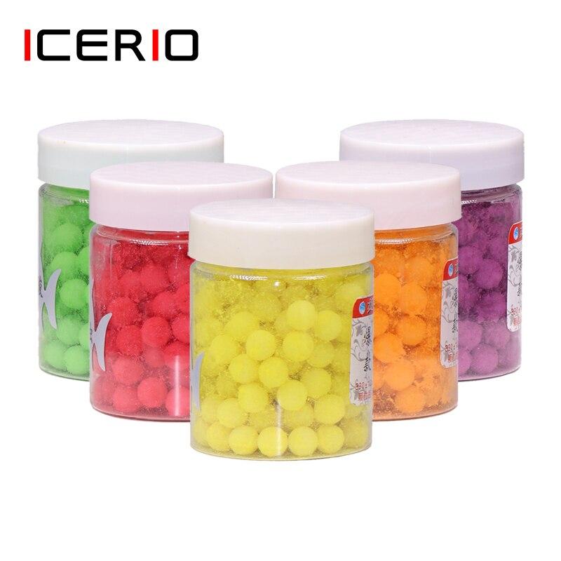 ICERIO 1 бутылка 70 г 320 шт. мягкие липкие бобы, приманка для рыбы, погружающаяся карп, рыболовные бусы, гранулы для рыбалки, приманка для ловли рыбы, быстрозажимные крючки|Наживки|   | АлиЭкспресс