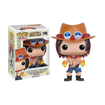 FUNKO POP Anime ONE PIECE Luffy Chopper ACE LAW FRANKY Action Figure Toys Decoration Models Collections for Kids Christmas Gifts 2