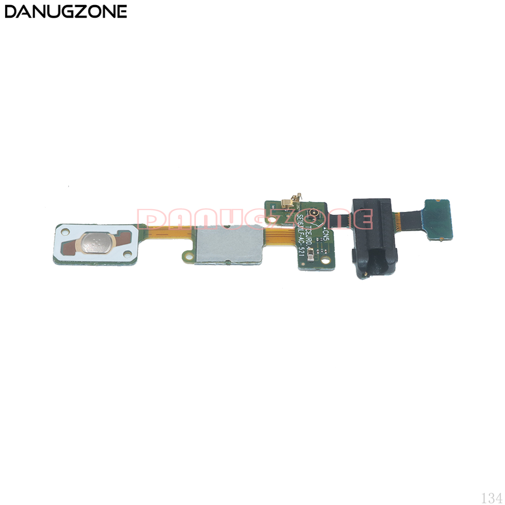 Home Button Return Key Sensor Earphone Audio Jack Headphone Socket Flex Cable For Samsung Galaxy J5 Prime / On5 2016 G570 image
