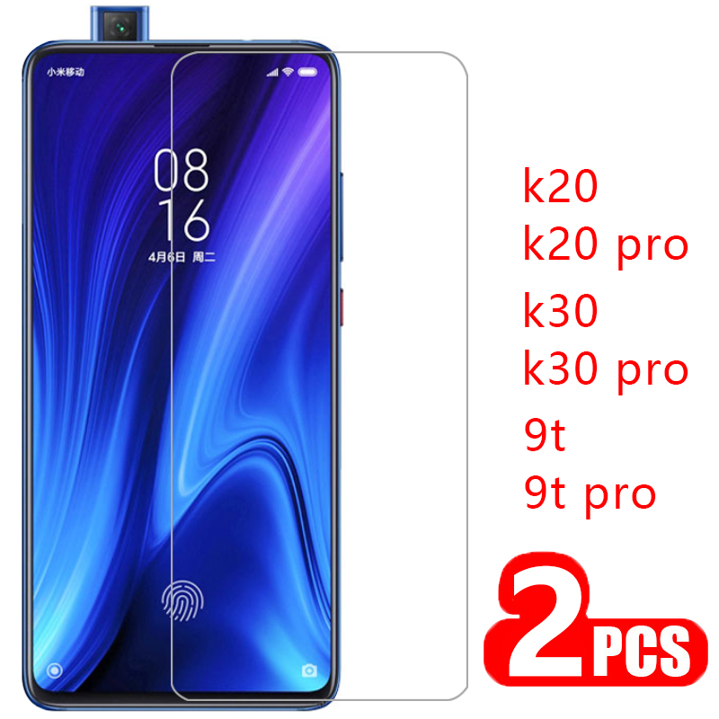 case for xiaomi mi 9t pro cover tempered glass screen protector on ksiomi redmi k20 k30 k 20 30 protective phone coque my 9 t t9(China)