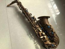 2021 nova marca vi ato saxofone profissional e plana de cobre antigo saxofone instrumentos musicais inscrição esculpida frete grátis