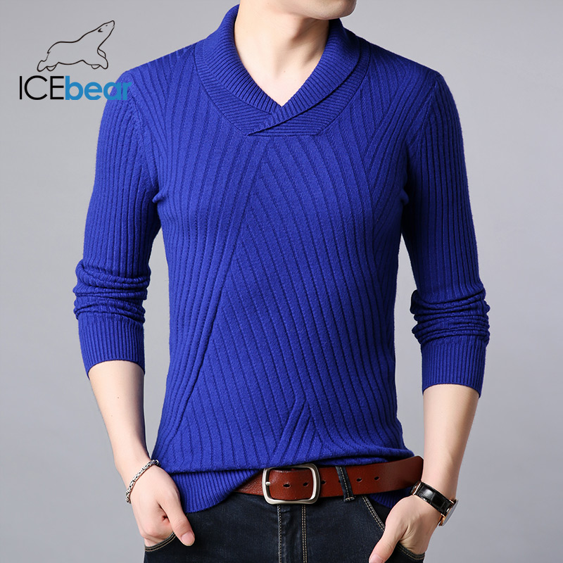 ICEbear 2019 New Men's Sweater High Quality Male Apparel Autumn Men's Brand Clothing 1819