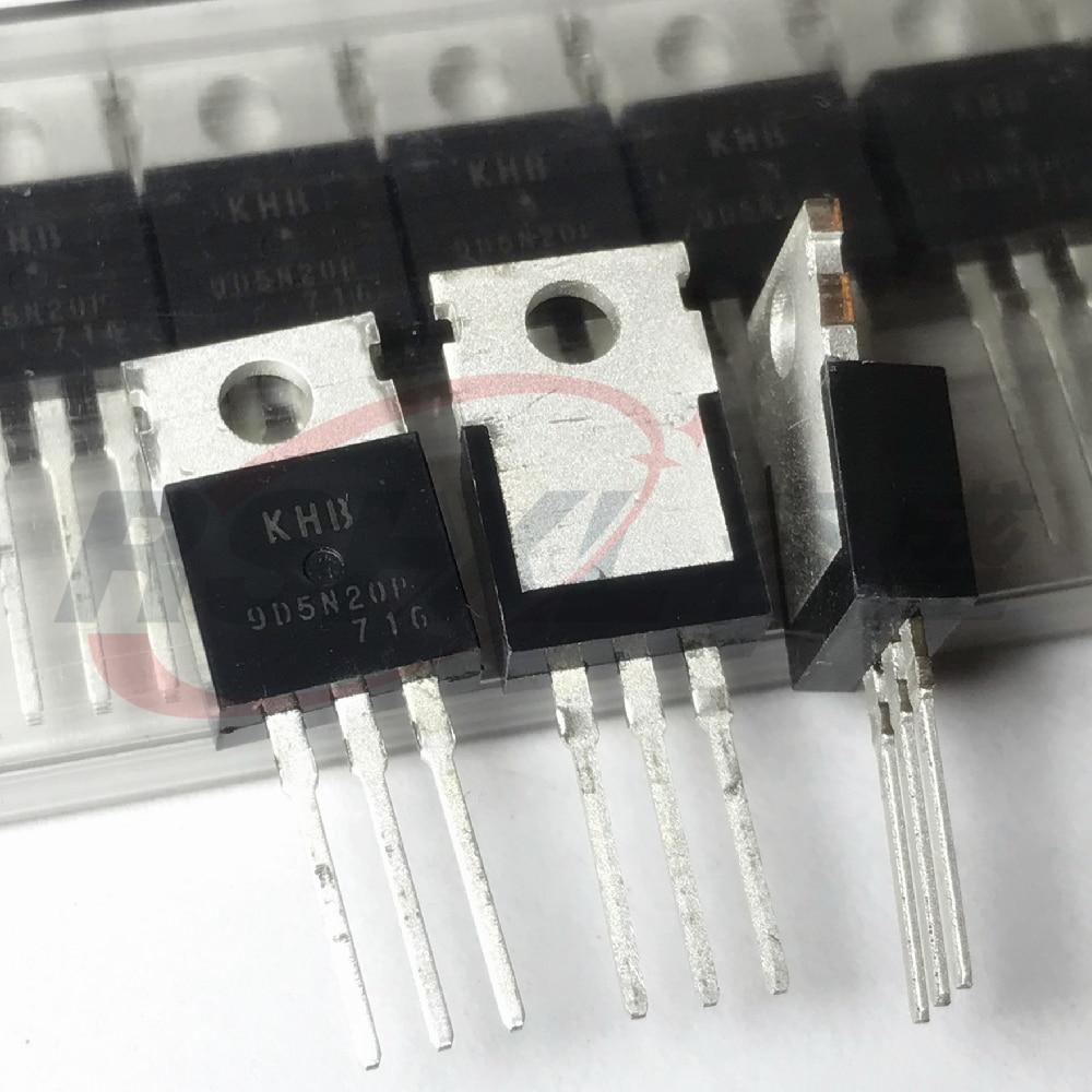 KHB9D5N20P 9D5N20P 9D5N20 9D5N20P 5N20 9.5A 200 В до 220 Новый оригинальный 10 шт./лот|Аксессуары для батарей и ЗУ|   | АлиЭкспресс