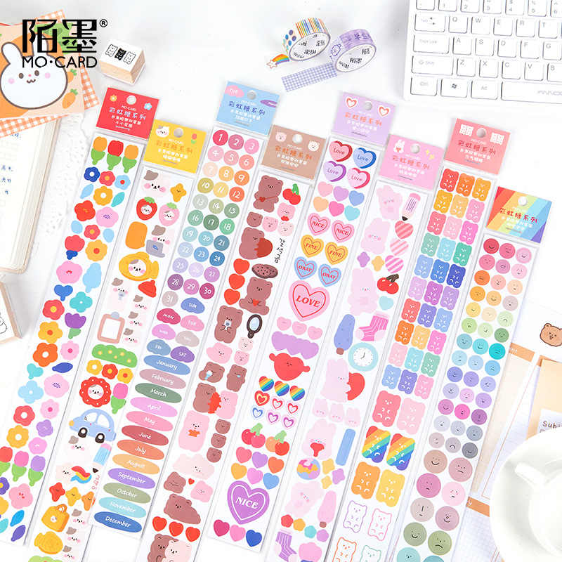 PET Trasparente Washi Nastro Ricamo Manor Adesivo Serie Scrapbooking Journal del Mestiere di Carta Forniture di Cancelleria ZR2260