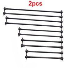 2 pces comprimento 80.5/91/100/132/139.5mm dogbone transmissão eixo 8mm bola cabeça 3mm pino fixo eixo para 1/8 rc peças de carro diy