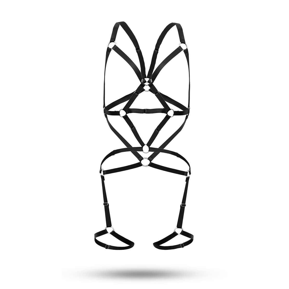 Eropa dan Amerika dengan Aksesoris Sederhana Klub Malam Pakaian Dalam Pakaian Liontin Wanita Elastisitas-Geometri Bikini Tubuh Liontin