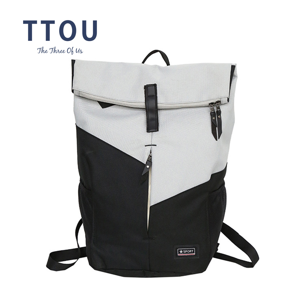 TTOU Simple Schoolbag Backpack For Girls Teens Youth Leisure Men Laptop Bagpack Travel Bag Male Rucksack Bolsa Mochila Coofit