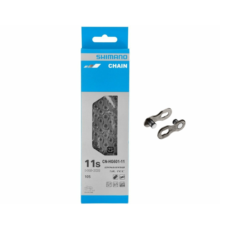 Shimano 11-speed Chain CN-HG601 с Quick-Link