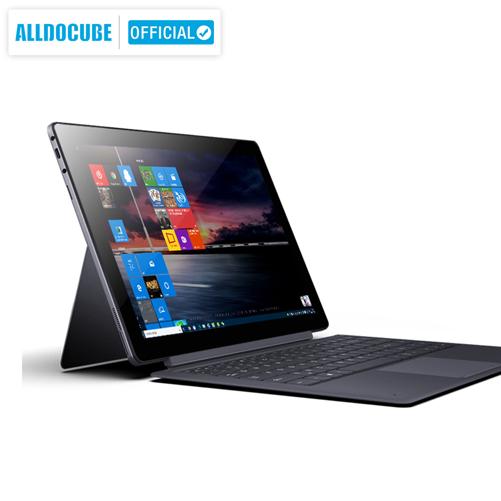 ALLDOCUBE Knote X 13.3 Inch  2 IN 1 Tablet 2560*1440 IPS Windows 10 Intel Gemini Lake N4100 8GB RAM 128GB ROM Type C Tablets PC