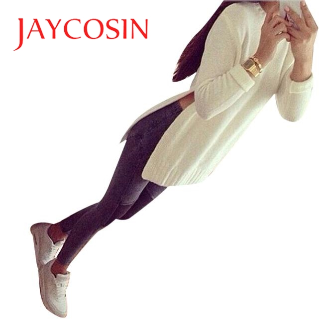 Jaycosin Winter clothes women sweater Oversized Sweaters Long Sleeve Knitted Pullover Jumper Sweater Cardigan pull femme hiver