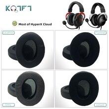 KQTFT وسادات أذن بديلة لـ HyperX Cloud I/ II ، Cloud X ، Cloud Pro ، Cloud Pro ، Cloud Silver ، Cloud Core ، Cloud Alpha S/ Gold