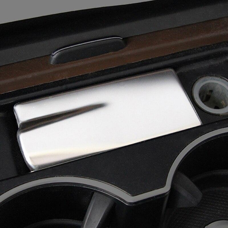Gelinsi Per Mercedes Benz GLE ML GL GLS Auto Car Styling Supporto di Tazza Posacenere Copertura Della Pagina Trim Sticker Interni Accessori - 3