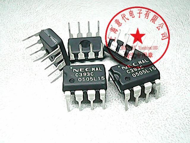 10PCS//lot C393C UPC393C DIP8 in Stock