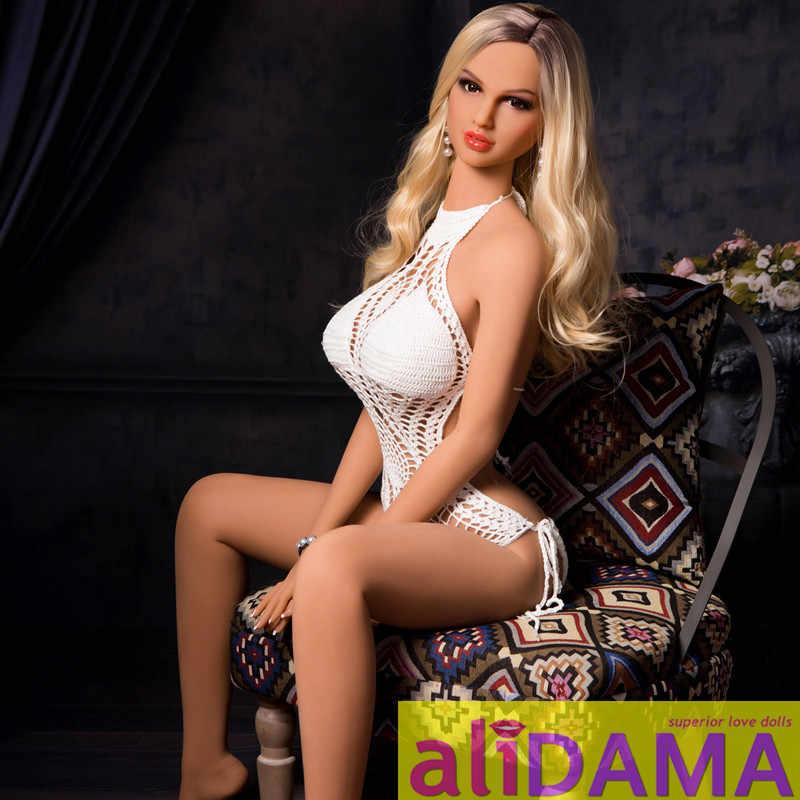 Алидама 168 см (5.51ft) немецкая модель бикини секс кукла из тпе реалистичные силиконовые секс куклы Poupees Sexuelles эротическая киска сексуальная кукла