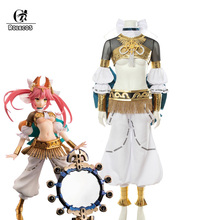 ROLECOS Fate Tamamo no Mae Cosplay Fate Extra Game Costume Tamamo no Mae Shinwa Reisou Cosplay Dancer Women Costume
