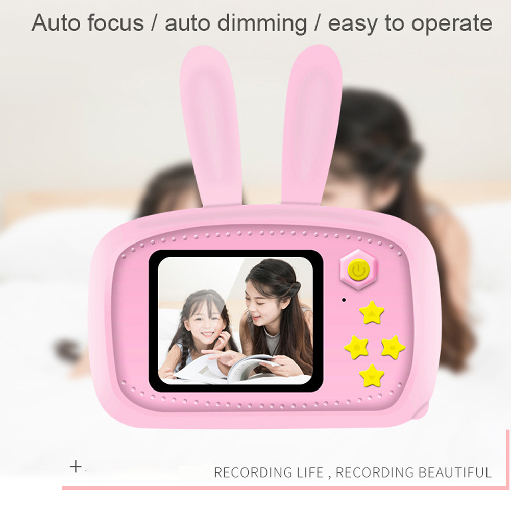 Children s camera toy baby cute camera rechargeable digital camera mini screen baby children s educational Innrech Market.com