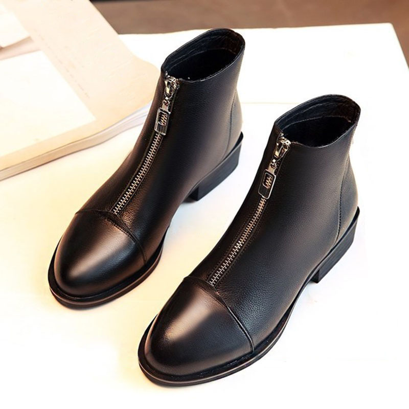 Women-Ankle-Boots-PU-Leather-Autumn-Winter-Shoes-Woman-Fashion-Martin-Boots-Pointed-toe-Female-Botas