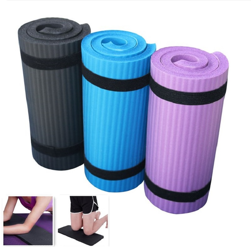 60x25x1.5cm Yoga Mat Gym Beginner Fitness Gymnastics Mats Foldable Mattress Cushion Elbow Sports Mat Indoor Bodybuilding Pads