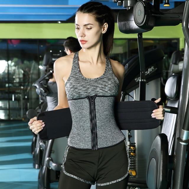 Waist Trainer Corset Cincher Sauna Sweat Faja Sport Girdle Slimming Shaper Abdominal Trimmer Belt Modeling Posture Corrector 1