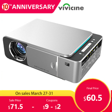 VIVICINE Newest V20 Mini LED Projector, Optional Android 7.1