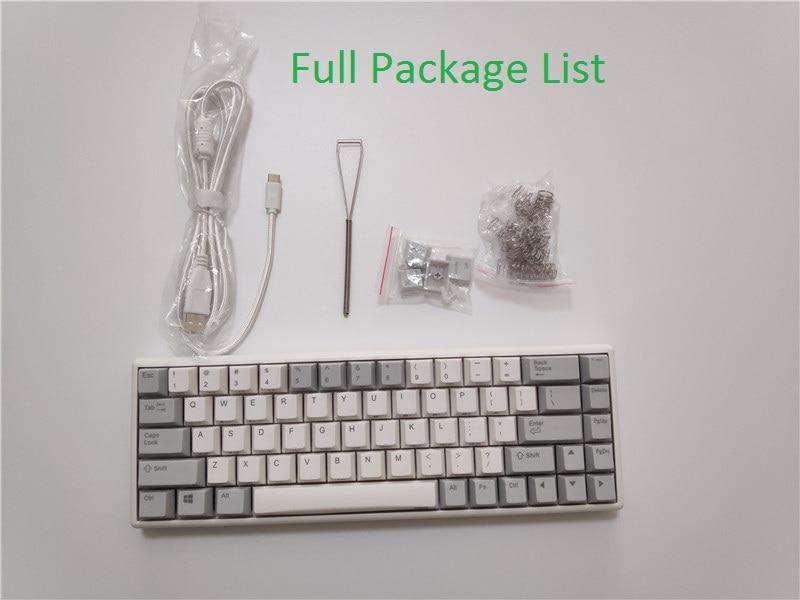 NIZ 68 Keyboard Capacitive 35g 45g Bluetooth Keyboard RGB Backlighting Wireless NIZ68 Mechanical Keyboard