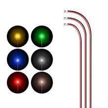Проводная светодиодная smd лампа 12 В 0805 модель поездов с