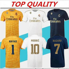2019 arrive Real Madrided Soccer Jersey 2020 Luka Jovic MODRIC Hazard NEW 2020 3rd ISCO ASENSIO Adult Football Jerseys Shirts(China)