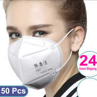 Fast Delivery KN 95 Face Mask 5 layers Anti-Dust Disposable Mouth Masks Facial Protective