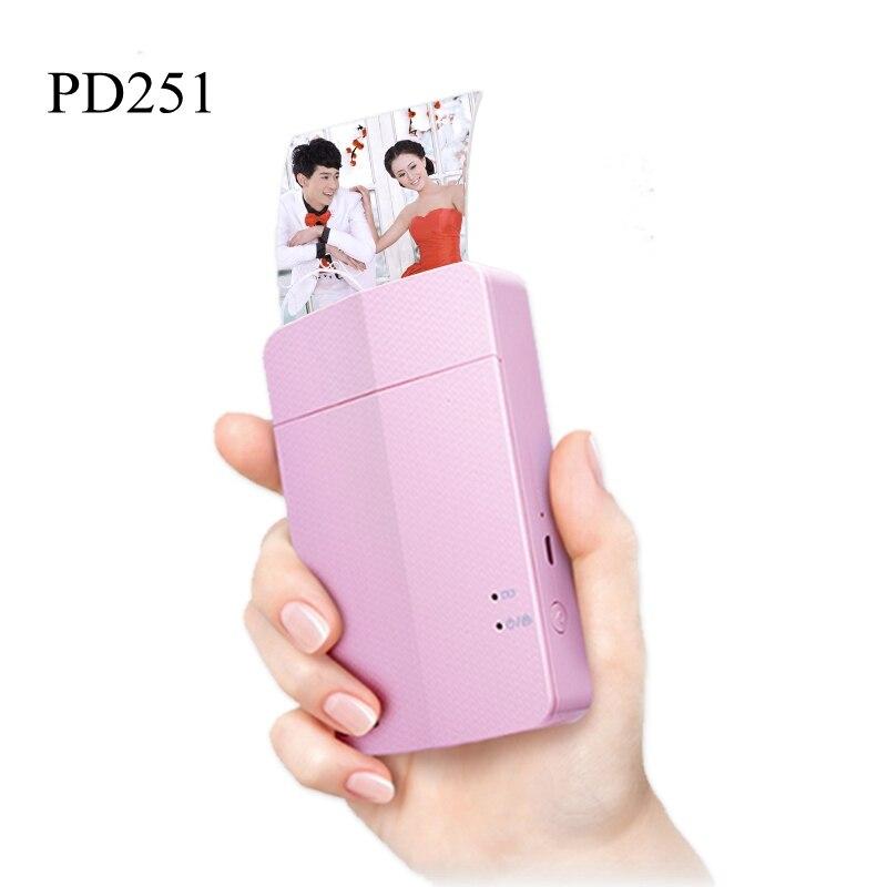 PD251 PD238 PD239 Tragbare foto drucker bluetooth drahtlose kamera für tragbare tasche druck maschine, farbe drucker
