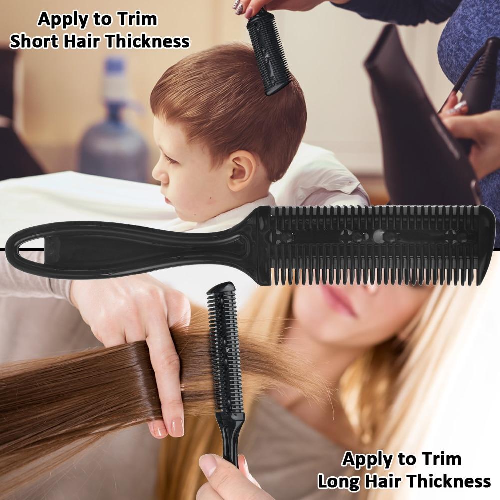 cabelo, clipes, capa, kit de tesouras de