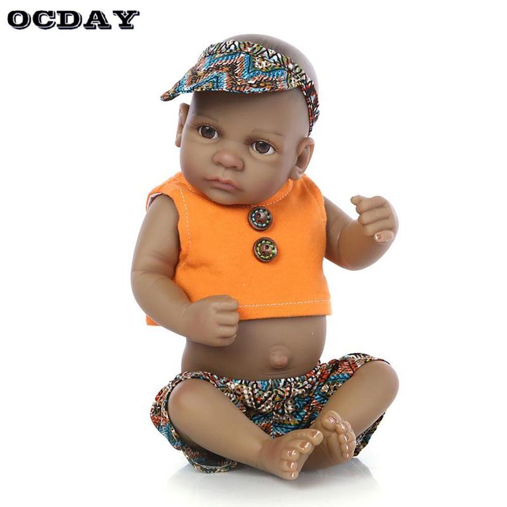 Full Limb # BOY BABY#OPEN EYES Hot Sale 10/'/' Reborn Doll Kit
