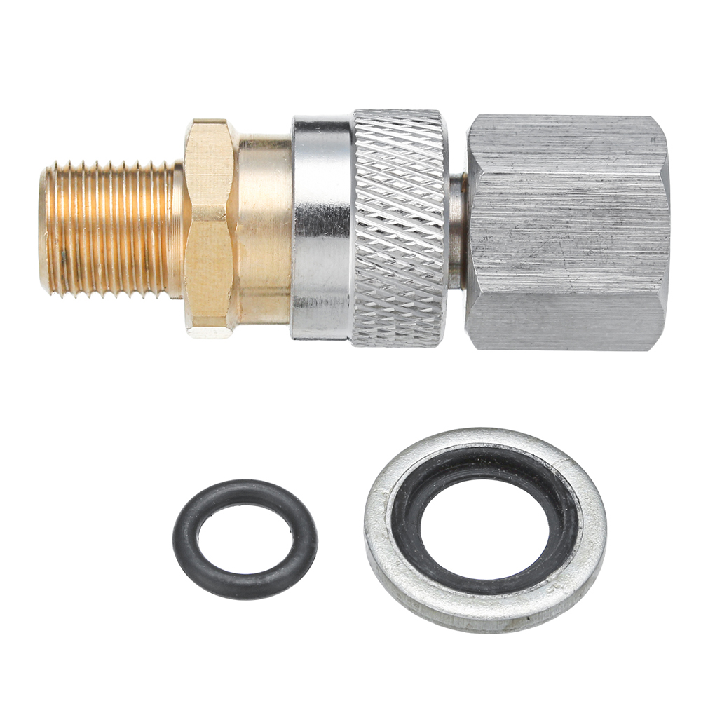 Cool Replacement Connector For Air Rifles PCP 1/8BSP Quick Coupler Pipe Fittings Adaptor Socket Parts High Quality Pipe Fittings