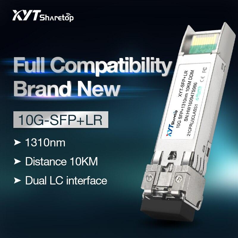 Stock Sharetop 10G módulo transceptor óptico modo único fibra dual SFP + 10G-LR 1310nm LC Puerto 10km totalmente compatible Cortador chino de fibra óptica Cleaver S09, cortador de fibra óptica Comparable, cuchilla de fibra de alta precisión