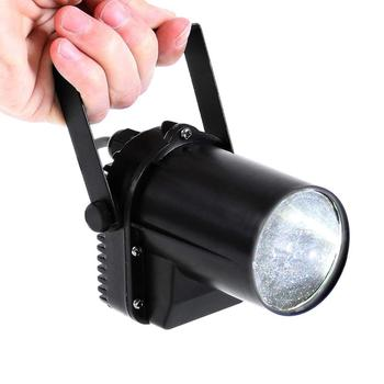 Thrisdar 5W Mini LED Beam Pinspot Light DJ Disco Mirror Ball Light KTV Bar Club Party Disco DJ Stage Mirror Ball Disco Light фото