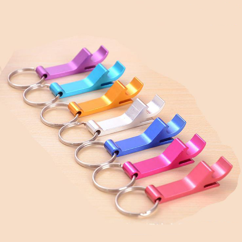 1Pc Creative Open Cover Open Bottle Opener Beer Bottle Cover Screwdriver Multi-function Open Bottle Opener Keychain