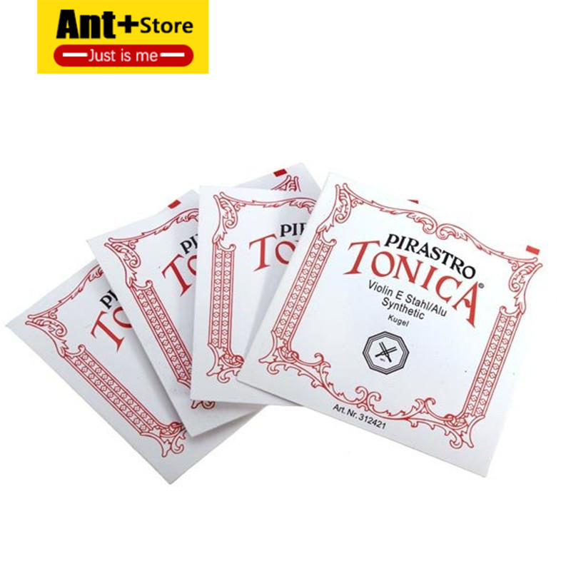 4 Pieces / Set A / E / D / G Violin String Stainless Steel Instrument Violin Tonica Parts And Accessories