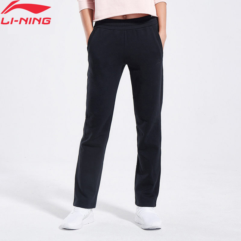 Lining Sweat-Pants Trousers Women Regular-Fit Fleece WARM AKLN918 WKY197 31%Polyester