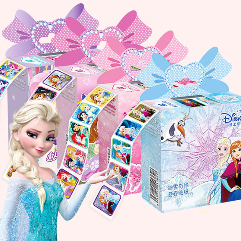 200pcs Disney Frozen Princess Pixar Cars Removable Sticker Scrapbooking For Kids Decor Diary Notebook Decoration Toy Stickers