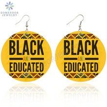 Somesoor 10 Дизайн Черные поговорки eductaed queen африканские