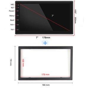 """Image 4 - Podofo 2 din автомобильное радио GPS Android Авторадио WiFi USB аудио 2din 7 """"сенсорный экран универсальный MP5 мультимедийные плееры Bluetooth FM"""