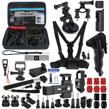 PULUZ 43 in 1 Accessories Total Ultimate Combo Kits with EVA Travel Case Bag Cover  for DJI Osmo Pocket