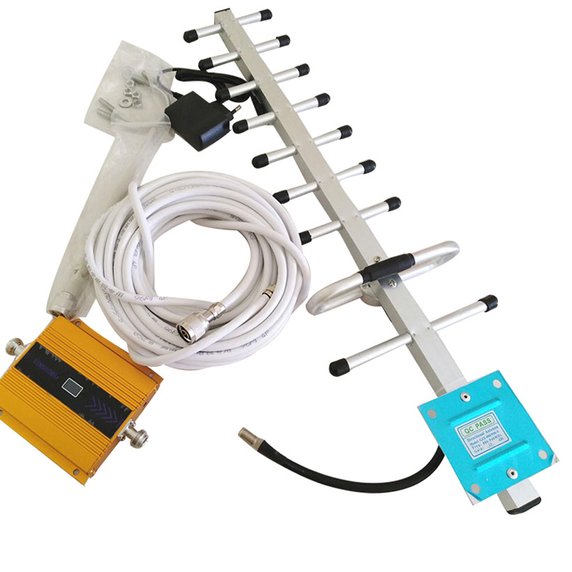 Mobile GSM Signal Booster,900mhz GSM Repeater With LCD,cell Phone GSM Signal Repeater,signal Amplifier With Yagi Antenna Cable