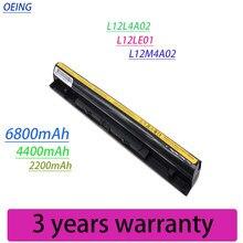 6800mAh CÉLULAS 4 L12L4A02 L12S4E01 Nova Bateria Para Lenovo Z40 Z50 G40-45 G50-30 G50-70 G50-75 G50-80 G400S G500S L12M4E01 L12M4A02