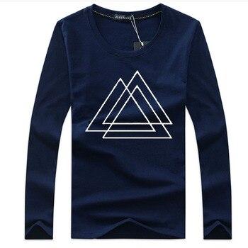 2020 New Men T shirt Summer  fashion Hip-Hop Shirt Round collar Long Sleeve T-shirt Shirts funny t shirts - discount item  42% OFF Tops & Tees