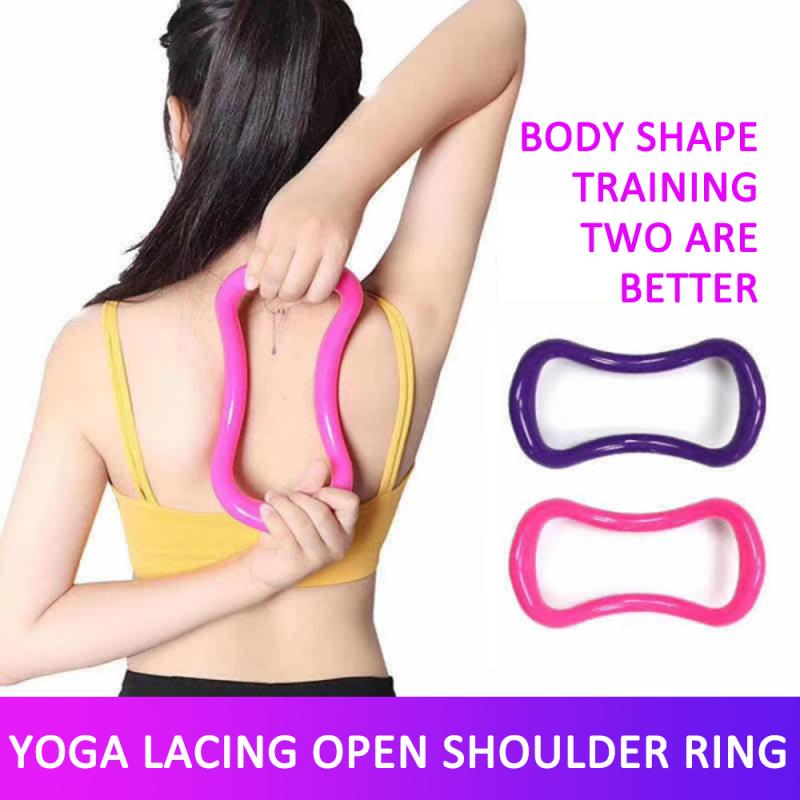 Yoga Magic Ring Pilates Yoga Circle Equipment Workout Ring Fitness Circle Training Muscle Resistance Support Tool Calf Home
